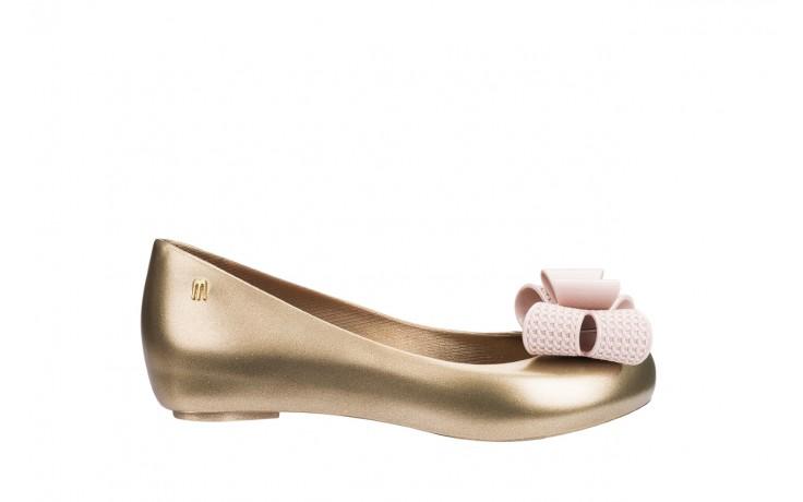 Baleriny melissa ultragirl sweet xv ad gold pink, złoty, guma - melissa - nasze marki