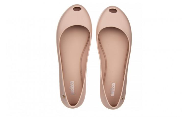 Baleriny melissa ultragirl basic ad light pink 21 010373, róż, guma  - gumowe - baleriny - buty damskie - kobieta 4