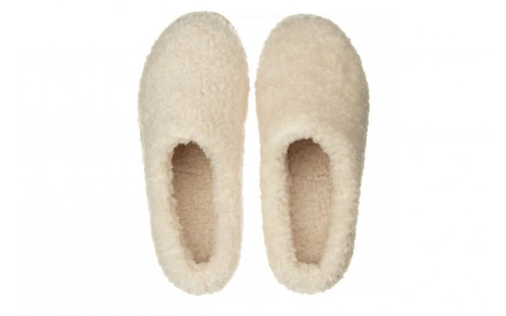 Klapki emu joy teddy natural 119139, beż, futro naturalne  - trendy - kobieta 4