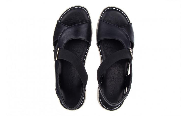 Sandały bayla-161 016 901 black 161191, czarny, skóra naturalna  - bayla - nasze marki 4