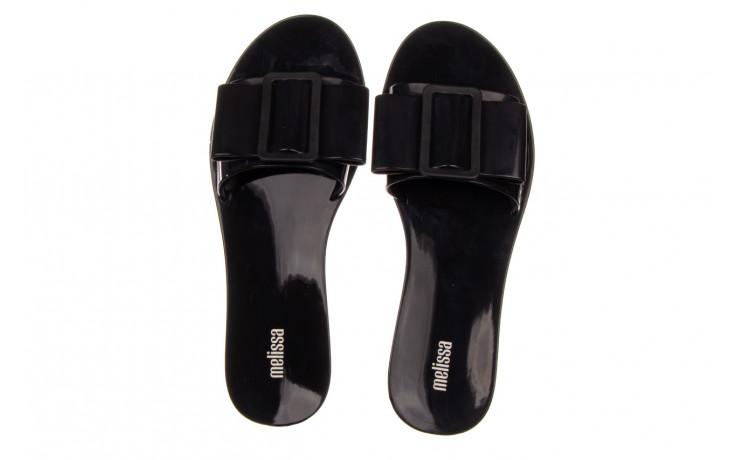 Klapki melissa babe ad black black 010337, czarny, guma - klapki - buty damskie - kobieta 4