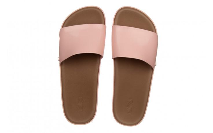 Klapki melissa beach slide next gen ad pink blue 010339, róż, guma - klapki - buty damskie - kobieta 4