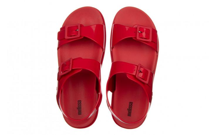Sandały melissa wide platform ad red 010363, czerwony, guma - nowości 4