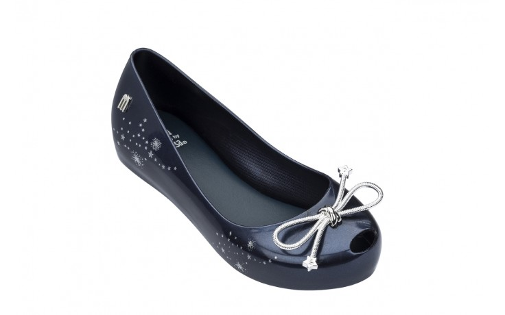 Baleriny melissa ultragirl elements ad blue, granat, guma - peep toe - baleriny - buty damskie - kobieta 1