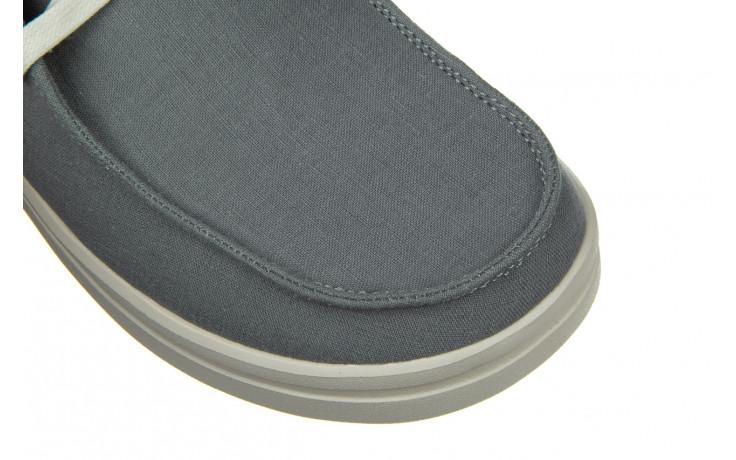 Półbuty heydude wendy rise chambray abyss blue 003220, niebieski, materiał - nowości 5