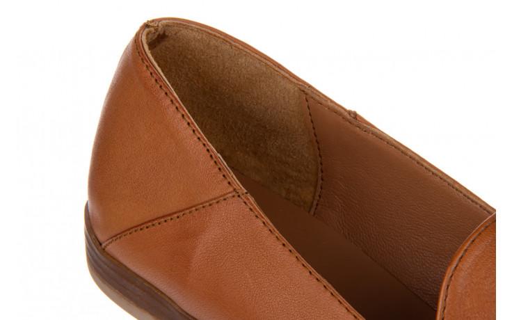 Półbuty bayla-161 138 434 coconut 161199, brąz, skóra naturalna  - skórzane - półbuty - buty damskie - kobieta 7