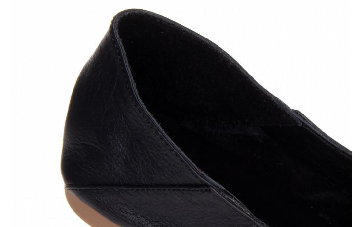 Półbuty bayla-161 138 4060 black 161222, czarny, skóra naturalna  - wsuwane - półbuty - buty damskie - kobieta 6