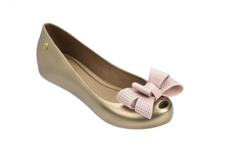 Baleriny melissa ultragirl sweet xv ad gold pink, złoty, guma - melissa - nasze marki 1