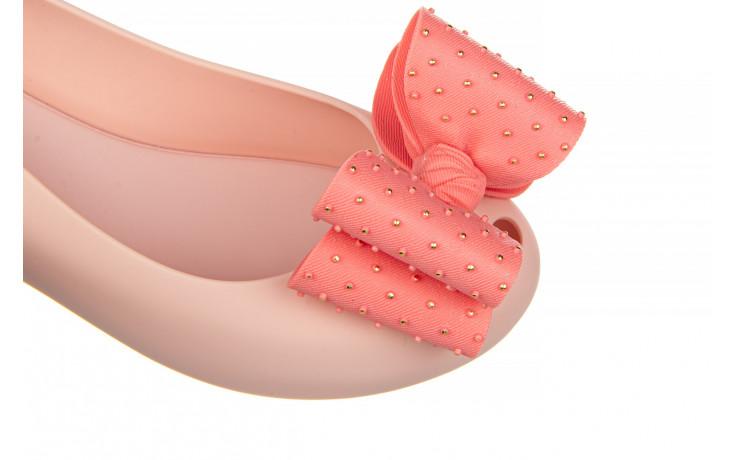 Baleriny melissa ultragirl sweet xix ad pink 010374, róż, guma  - baleriny - melissa - nasze marki 6