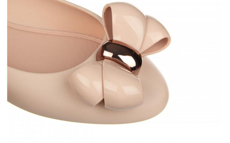 Baleriny melissa doll viii ad pink pink 010369, róż, guma - baleriny - melissa - nasze marki 5