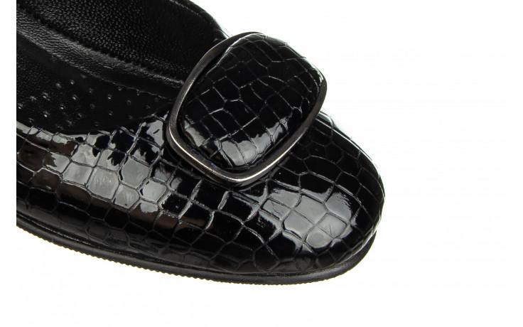 Baleriny bayla-187 105 black 187013, czarny, skóra naturalna  - bayla - nasze marki 5