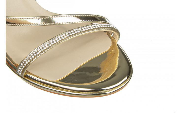 Sandały bayla-187 587-1123 gold 187017, złoty, skóra ekologiczna - bayla - nasze marki 5