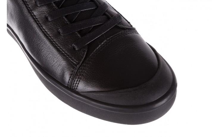 Sneakersy john doubare m5761-1 black, czarny , skóra naturalna  - trendy - mężczyzna 5
