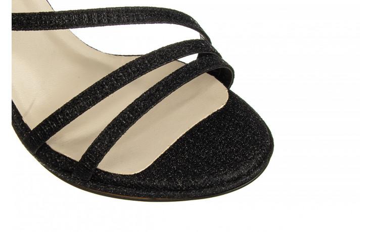 Sandały bayla-187 587-1115 black 187015, czarny, skóra ekologiczna  - sandały - buty damskie - kobieta 6