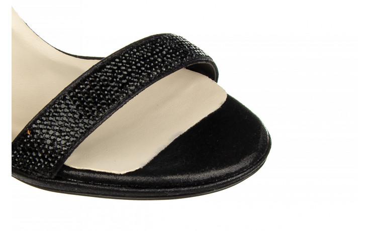 Sandały bayla-187 587-536 black 187019, czarny, skóra ekologiczna  - sandały - buty damskie - kobieta 5