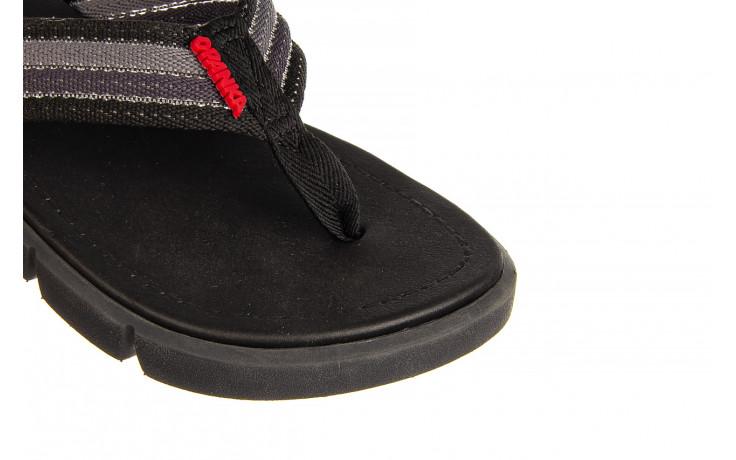 Klapki azaleia 451-op450 black, czarny, materiał  - azaleia - nasze marki 5