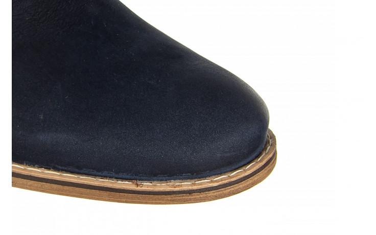 Półbuty bayla-081 831 juma blue ax, granat, skóra naturalna  - wizytowe - półbuty - buty męskie - mężczyzna 5