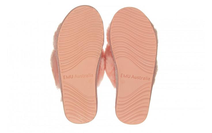Kapcie emu mayberry baby pink 119132, róż, futro naturalne  - nowości 5