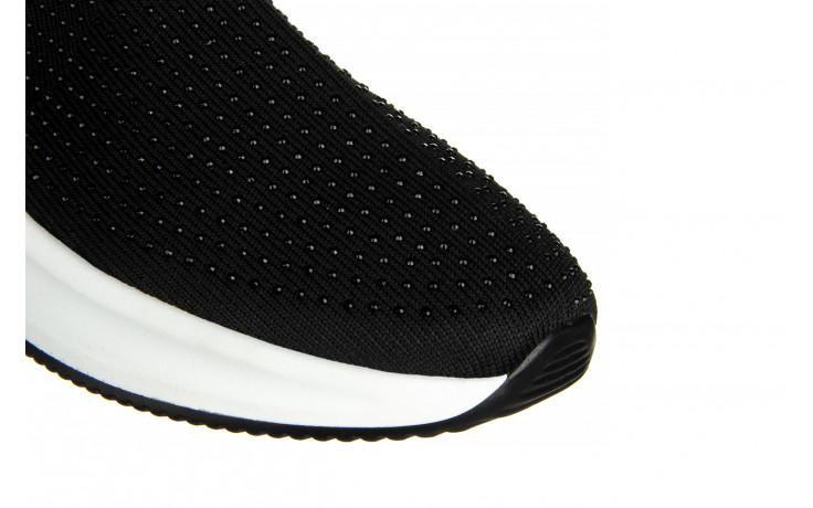 Sneakersy sca'viola l-15 black 047194, czarny, materiał - trendy - kobieta 6
