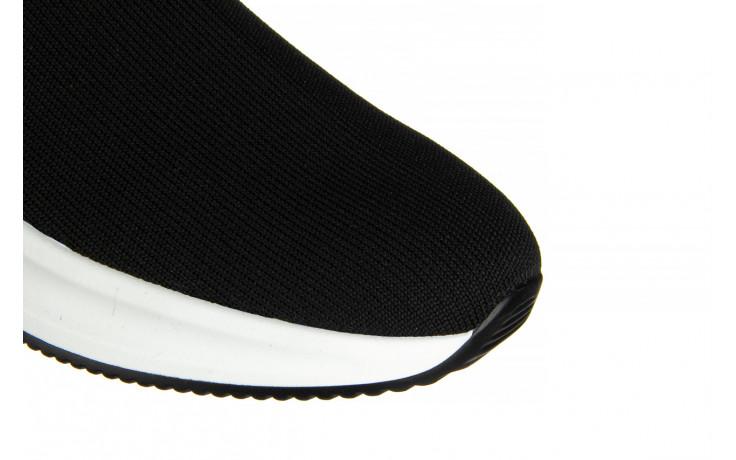 Sneakersy sca'viola l-16 black 047195, czarny, materiał - jesień-zima 2020/2021 6