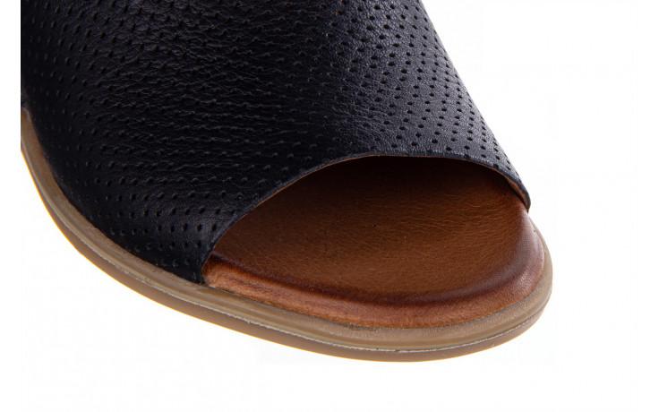 Klapki bayla-161 061 1609 black 161202, czarny, skóra naturalna  - bayla - nasze marki 5