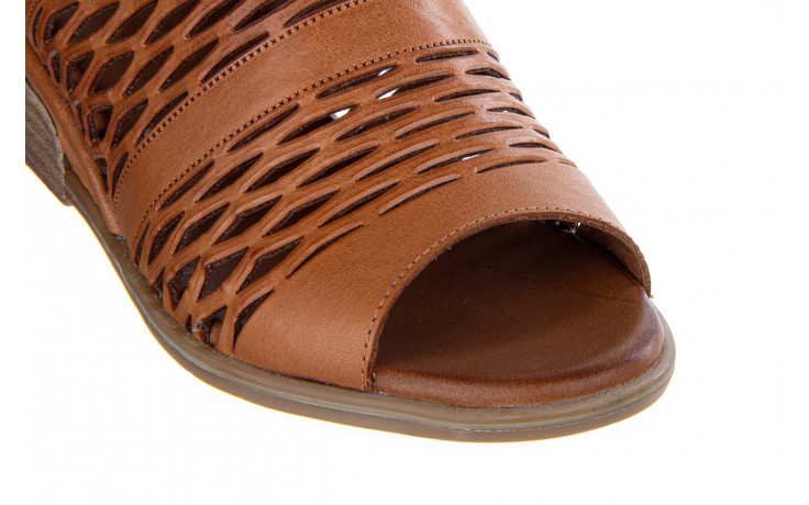 Sandały bayla-161 061 1600 tan 161201, brąz, skóra naturalna  - bayla - nasze marki 5