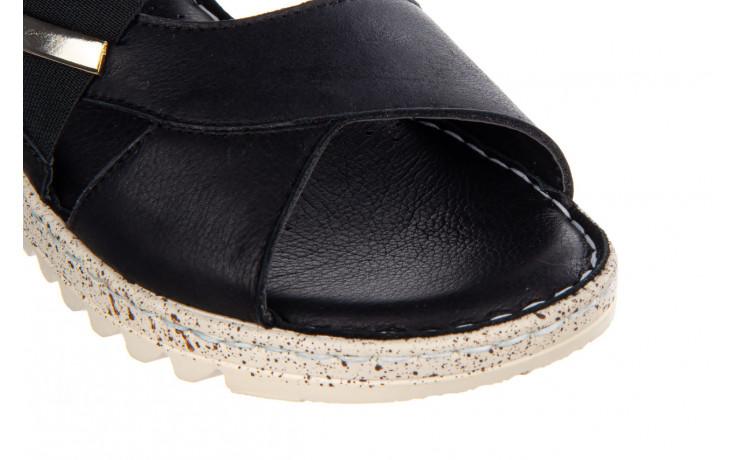 Sandały bayla-161 016 901 black 161191, czarny, skóra naturalna  - bayla - nasze marki 5