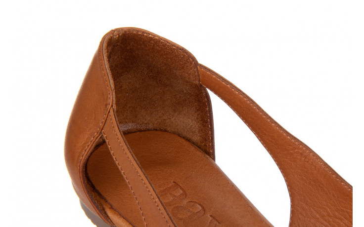 Baleriny bayla-161 093 6047 coconut 161209, brąz, skóra naturalna  - skórzane - baleriny - buty damskie - kobieta 5
