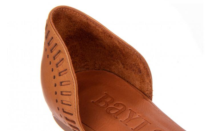 Baleriny bayla-161 138 1102 coconut 161216, brąz, skóra naturalna  - skórzane - baleriny - buty damskie - kobieta 6