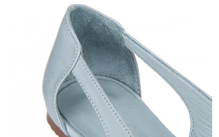 Baleriny bayla-161 138 1560 fresh 161220, niebieski, skóra naturalna - skórzane - baleriny - buty damskie - kobieta 5
