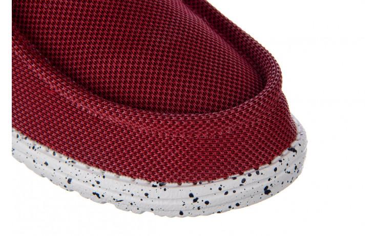 Półbuty heydude wally hawk lava grey 003200, czerwony, materiał - trendy - mężczyzna 5