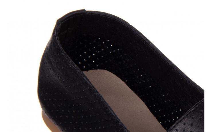 Półbuty bayla-161 138 1115 black 161218, czarny, skóra naturalna  - bayla - nasze marki 5
