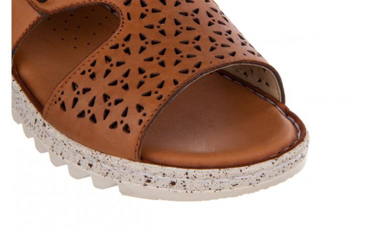 Sandały bayla-161 016 966 coconut 161196, brąz, skóra naturalna - bayla - nasze marki 5