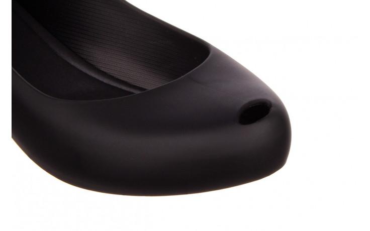 Baleriny melissa ultragirl basic ad black 21 010366, czarny, guma - melissa - nasze marki 5