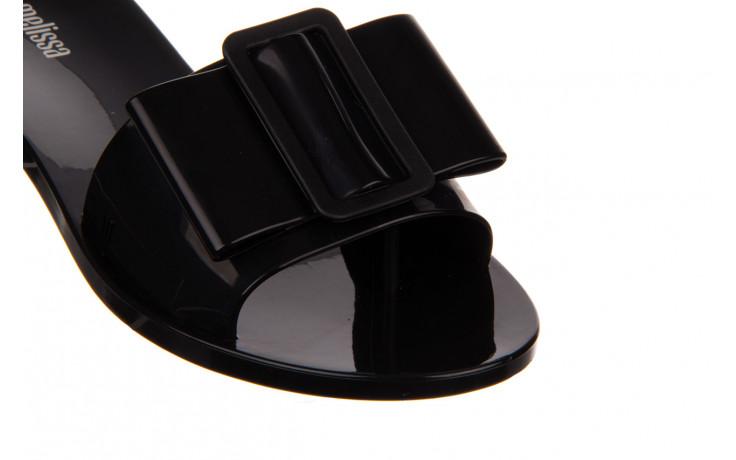 Klapki melissa babe ad black black 010337, czarny, guma - klapki - buty damskie - kobieta 5