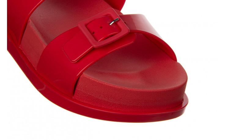 Sandały melissa wide platform ad red 010363, czerwony, guma - nowości 5