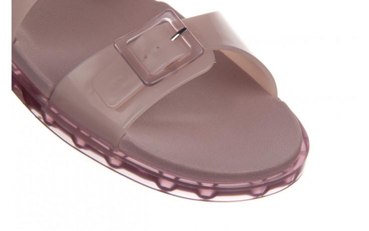 Sandały melissa wide sandal ad lilac 010359, fioletowy, guma - melissa - nasze marki 6