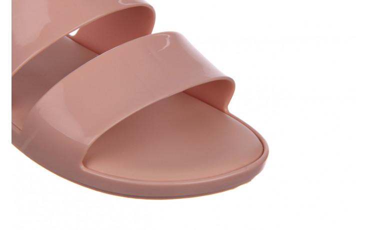 Klapki melissa color pop ad pink 010343, róż, guma - kobieta 5
