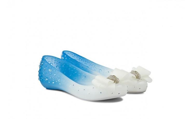Baleriny sca'viola 870 blue, niebieski/biały, silikon 1