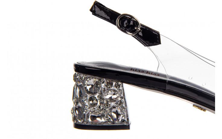 Sandały sca'viola g-25 black 047187, czarny, silikon 7