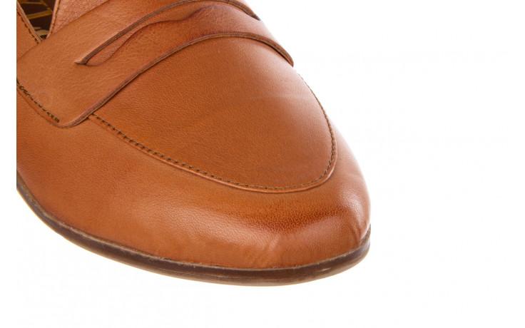 Półbuty bayla-161 138 434 coconut 161199, brąz, skóra naturalna  - skórzane - półbuty - buty damskie - kobieta 6