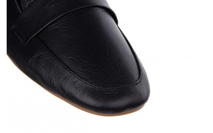 Półbuty bayla-161 138 4060 black 161222, czarny, skóra naturalna  - wsuwane - półbuty - buty damskie - kobieta 5