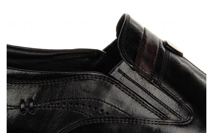 Półbuty john doubare ygc-z253-351-1 black 104176, czarny, skóra naturalna  - nowości 9