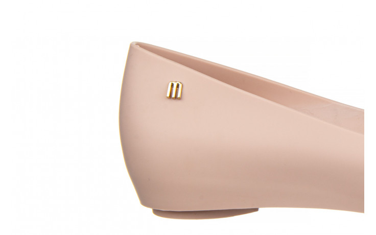 Baleriny melissa ultragirl basic ad light pink 21 010373, róż, guma  - gumowe - baleriny - buty damskie - kobieta 7