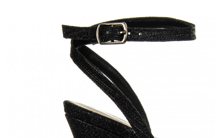 Sandały bayla-187 587-1115 black 187015, czarny, skóra ekologiczna  - sandały - buty damskie - kobieta 5