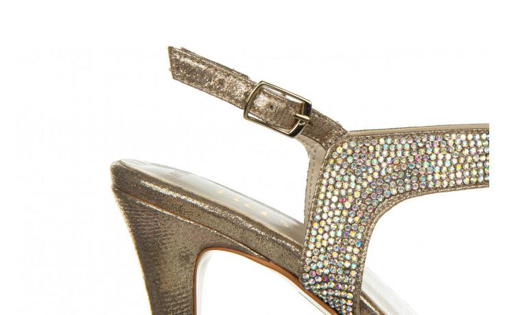 Sandały bayla-187 587-536 gold 187020, złoty, skóra ekologiczna 6