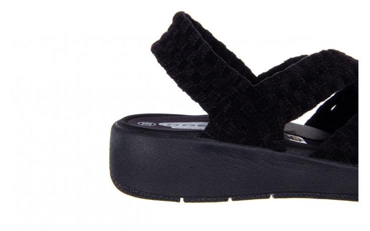 Sandały rock minily black cashmere 032847, czarny, materiał  - rock - nasze marki 6