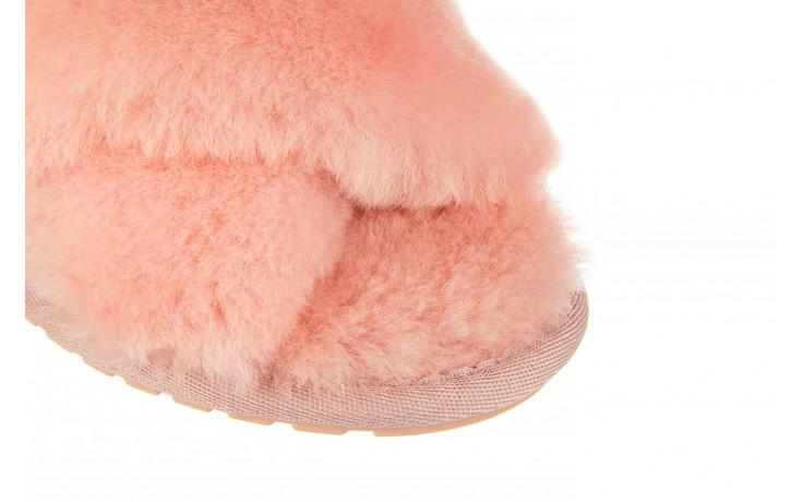 Kapcie emu mayberry baby pink 119132, róż, futro naturalne  - nowości 6
