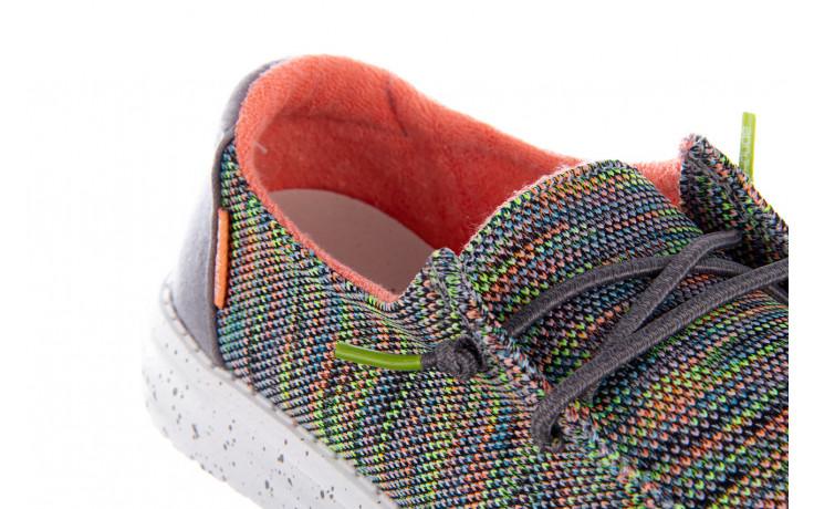 Półbuty heydude wendy sox peacock pink 003213, wielokolorowy, materiał  - półbuty - buty damskie - kobieta 6