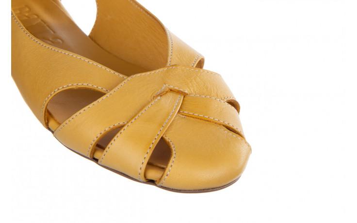 Baleriny bayla-161 138 1560 noce 161221, żółty, skóra naturalna  - bayla - nasze marki 6